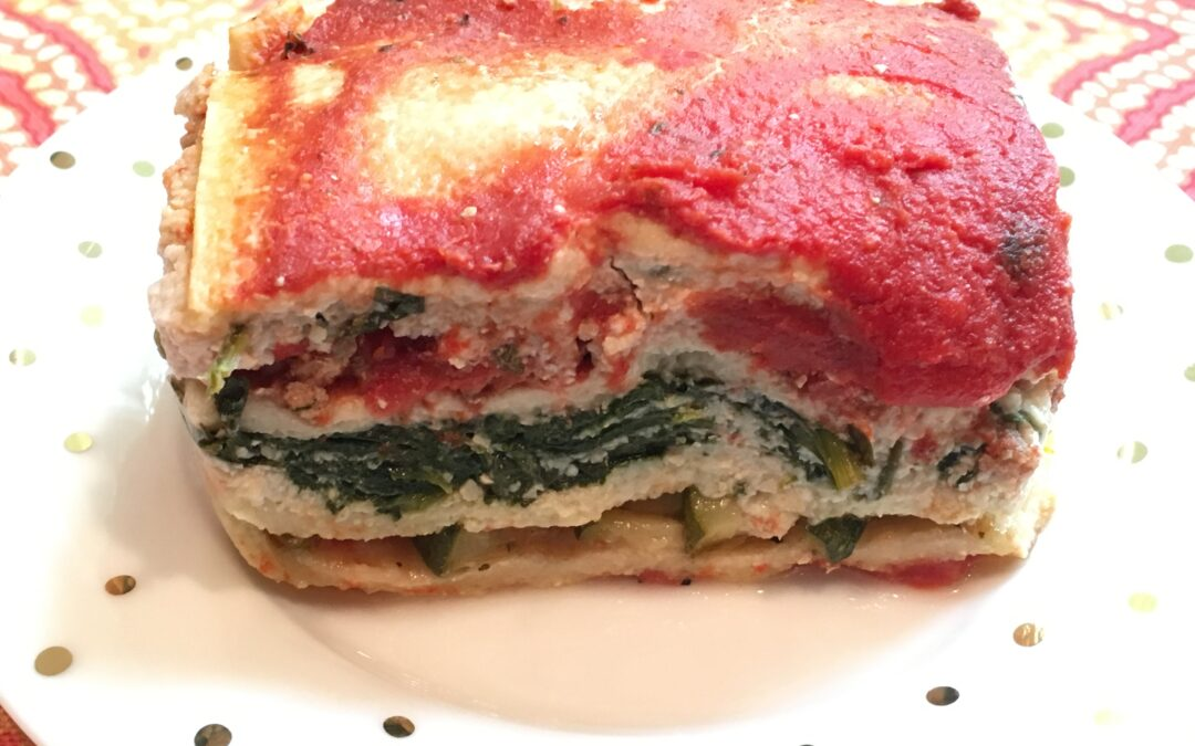 Vegetable Lasagna (Gluten and Dairy Free)